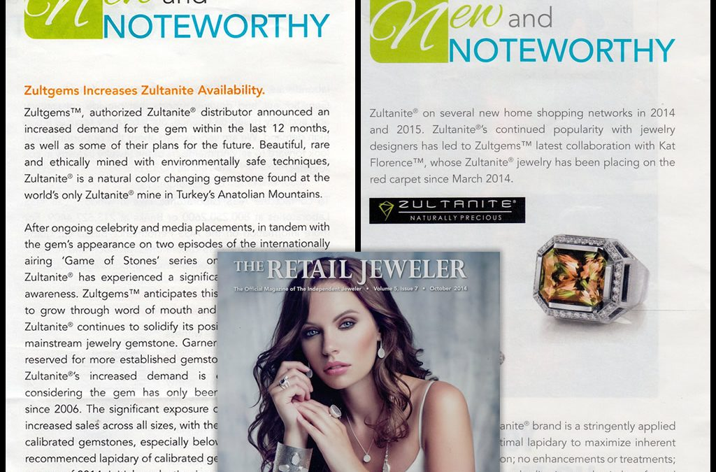 Zultanite® In The Retail Jeweler